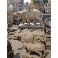 石雕群牛雕塑,劲牛群雕牛垦荒牛崛起牛奋进牛,石雕牛