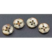 供应深圳彩色贝纹氧化锆衬衫陶瓷纽扣 不一样的色彩纽扣