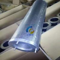 圆筒式活性炭筒式过滤器 镀锌简油烟净化 环保空气滤芯