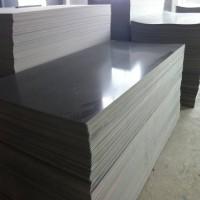 PVC-U板深灰色聚氯乙烯板钻井泥芯套筒PVC-U板加工