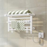 庆苑电热毛巾架浴室毛巾烘干架卫生间置物