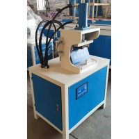 方管冲角机钢管折弯45°角切角机方管液压冲孔机一次成型机