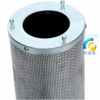 活性炭过滤筒 炭缸 筒式活性炭过滤器 镀锌碳筒